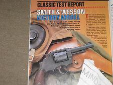 GUNS & AMMO TEST COLT ANACONDA IN 45 LONG COLT, S&W VICTORY, PT-22, BABY DESERT