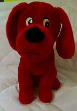 "Clifford the big red dog plush doll 13"" PBS kids stuffed animal toy reading kid"