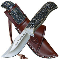 Helle Skinner Mandra kleines handliches Premium Jagdmesser Lederscheide f Jäger