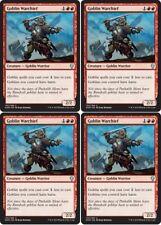 4x GOBLIN WARCHIEF Dominaria MTG Red Creature — Goblin Warrior Unc