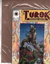 comic book Valiant Turok Dinosaur Hunter Jul  (OZ 225)