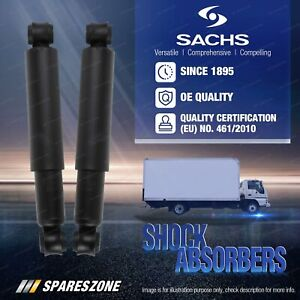 2 x Rear Sachs Truck Shock Absorbers for Ford F-Series 4x2 F-150 F-250 F-350 2WD