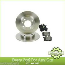 Peugeot 307 2000-2008 1.4 1.6 2.0 & HDi Rear Brake Discs and Pads Brand New Kit