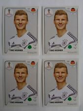 Panini Timo WERNER Rookie lot x 4 Germany Russia 2018 World Cup Sticker # 451