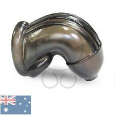 Cock Lock Smoke BLack TPR Rubber Chastity Cage Ring Soft  Men