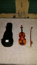 "Beautiful Miniature Cello Instrument for 18"" Doll Accessory American Girl. Nice."