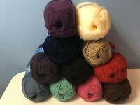 King Cole premier 100g dk yarn in 10 different subtle tones