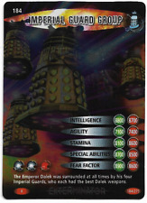 DOCTOR WHO BATTLES IN TIME TRADING CARD - 184 - EXTERMINATOR - IMPERIAL GUARD GR
