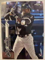 2020 Topps Chrome Luis Robert RC Rookie #60 White Sox Invest🔥🔥📈📈📈