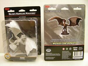 WizKids D&D Nolzur's Marvelous Miniatures Wyvern [Primed and Ready to Paint] NEW