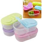 Fresh Fruit Snacks Storage Kitchen Container Plastic Sauce Food Box Crisper
