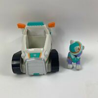 PAW Patrol RARE Everest Snowmobile Vehicle and figure VGC free delivery