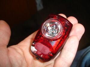 rechargeable Cygolite HotShot SL bike biking jogging safety red light clip-on