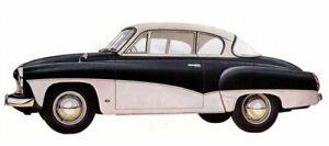 Zierleisten Satz für Wartburg 311 312 Coupe NEU inkl. Halteklammern
