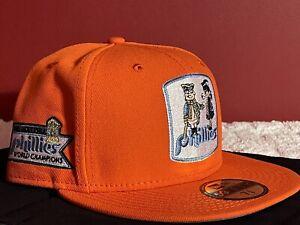 NEW ERA Philadelphia Phillies World Champions Fitted Hat Size 7 3/8