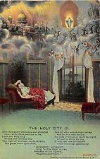 POSTCARD  SONG CARDS  BAMFORTH    The  Holy  City  (3)