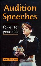 Audition Speeches for 6 ~ 16 Year Olds