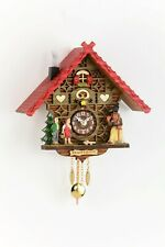 Hansel & Gretel Cuckoo & Musical Hanging Clock with Pendulum by Trenkle Uhren
