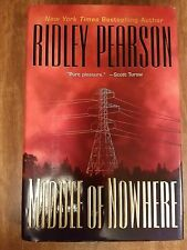 MIDDLE OF NOWHERE by Ridley Pearson 1st Ed 2000 Mystery Hardcover & Jacket
