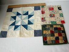 *Three Little Antique Doll Quilts*