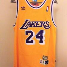 Kobe Bryant Jersey NBA LA Lakers 24 Yellow Swingman Authentic Edition