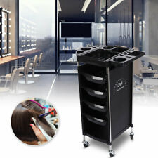 6 Layers Scroll Salon Trolley Storage Cart Coloring Beauty Stylist Equipment Hot