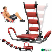 6 Pack Abdominal Abs Rocket Trainer Belly Stomach Exercise Crunch Toning Machine