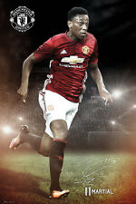 ANTHONY JORAN MARTIAL - MANCHESTER UNITED POSTER - 24x36 - FOOTBALL SOCCER 34162