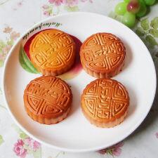 Artificial Simulation Fake Food Plastic Kitchen PU Moon Cake