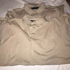 Mens Polo Golf lot of 2 shirts Large