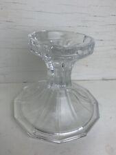 Vintage Crystal Pillar or Taper Candle Holder Fifth Avenue Crystal?