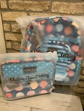 Matilda Jane Homework time backpack Blue Lady Lunchbox Set New With Tag In Bag