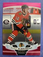2019-20 OPC Platinum Matte Pink #112 Alex DeBrincat Chicago Blackhawks Parallel