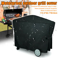 Full Length BBQ Grill Cover Outdoor Waterproof Protector For Weber Q3000 Q2000