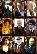 Skyfall - James Bond movie Trading cards 007