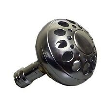 Silver Power Knob w/ BALL BEARING 4 Penn Shimano Daiwa Accurate Avet Newell Reel