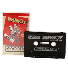 Paperboy Game Cassette For Commodore 64 /128 - Atari 1986 - Arcade