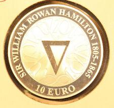 2005 Ireland Proof  10 Euro Silver coin ** Sir William Hamilton **
