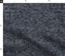 Silver Medieval Chainmaille Armor Spoonflower Fabric by the Yard