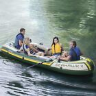 Best Inflatable Boats - Intex Seahawk 4 Inflatable 4 Person Boat Raft Review