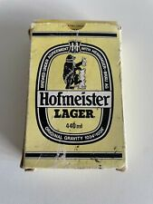More details for rare / vintage hofmeister lager playing cards - beer / collectable - complete