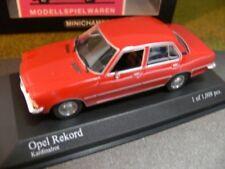1/43 Minichamps Opel Rekord 1975 rot