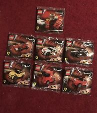 Lego Shell V-Power Ferrari 30190,30191,30192,30193,30194,30195,30196 Collection