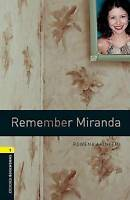 Oxford Bookworms Library: Level 1:: Remember Miranda by Akinyemi, Rowena (Paperb