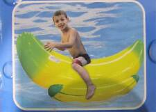 Clark Rubber Banana Rocker Ride-On Inflatable Kids Pool Toy