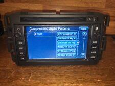 2009-2013 Chevy Tahoe Silverado GMC YUKON SIERRA NAVIGATION CD RADIO USB BOSE