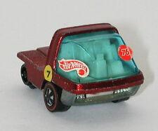 Redline Hotwheels Red The Heavyweights Cab White Interior oc11501