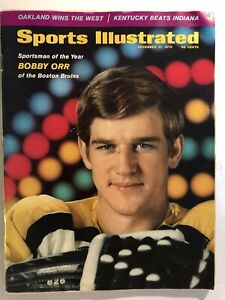 1970 Sports Illustrated BOSTON BRUINS Bobby ORR Sportsman of Year NO LABEL SOY