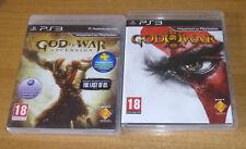 2 jeux playstation 3 PS3 - God of war ascension + God of war 3