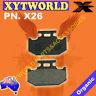 Brake Pads for Yamaha YXR 700 Rhino Ducks Parking Brake 2007-2013